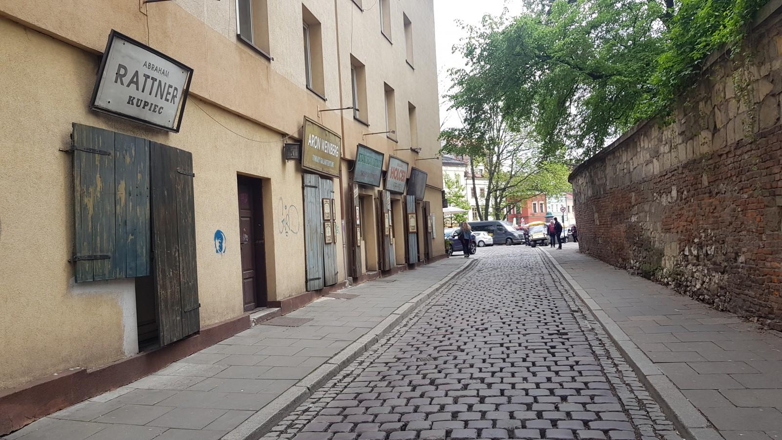 ulica szeroka na kazimierzu w krakowie