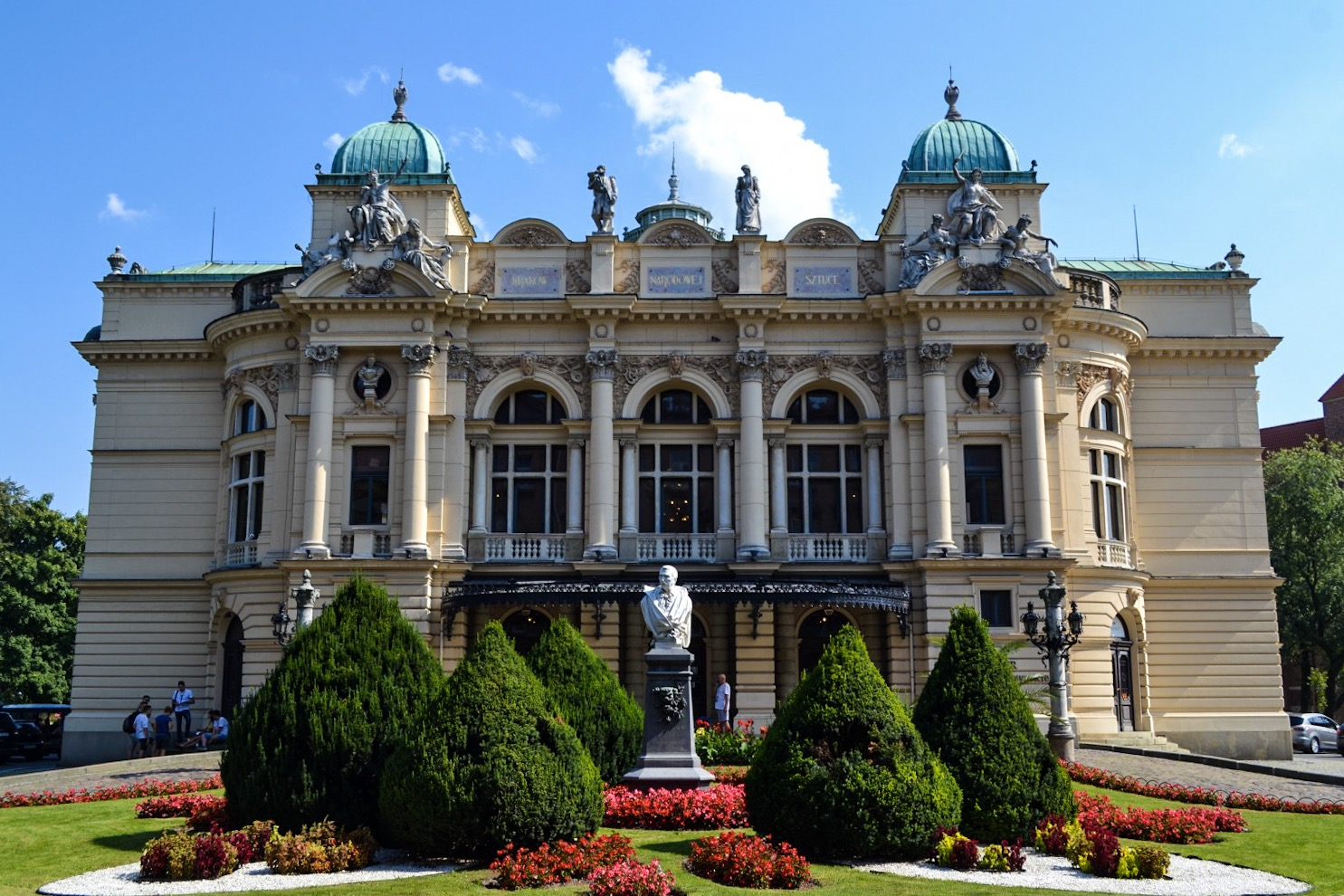 Słowacki Theater in Krakow